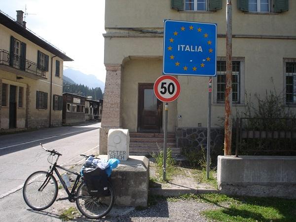 Przejście graniczne Włochy Austria
