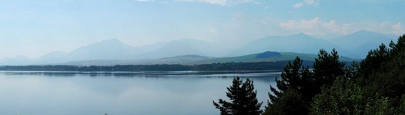Jezioro Liptowskie Liptowska mara
