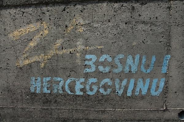 Bośnia i hercegowina grafitti