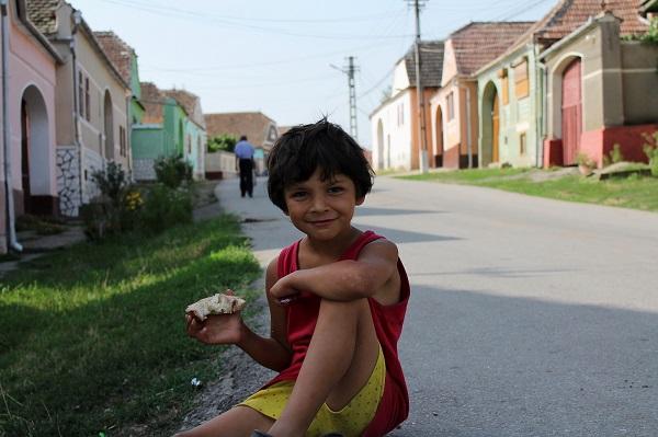 Dziecko z Rumunii