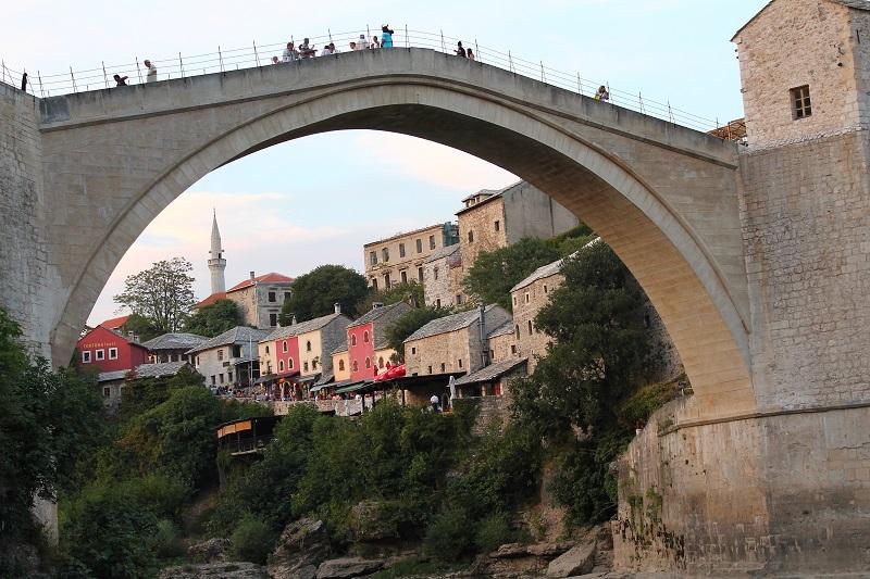 Most w mostarze