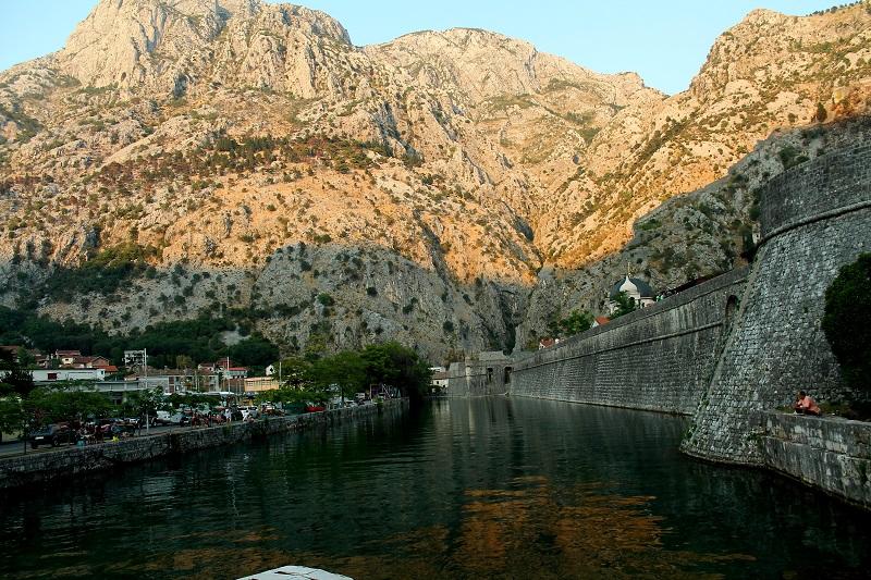 Mury starego miasta kotor