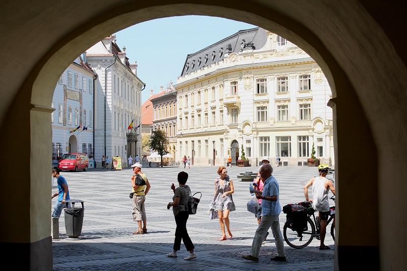 Sibiu rynek