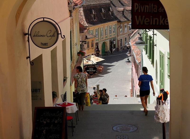 Sibiu stare miasto