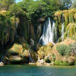 Wodospady Kravica i powitanie z Chorwacją. Gdzie spać niedaleko wodospadów?
