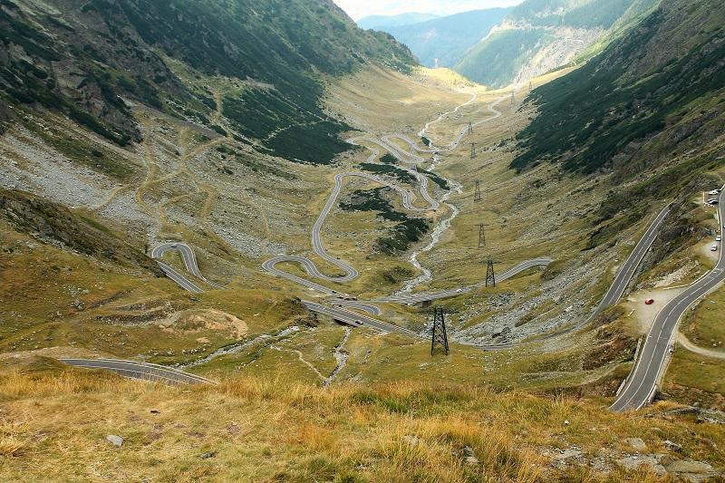 podjazd droga transfogaraska