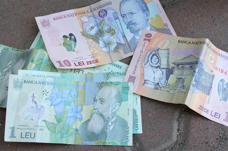 rumuńskie pieniądze leie