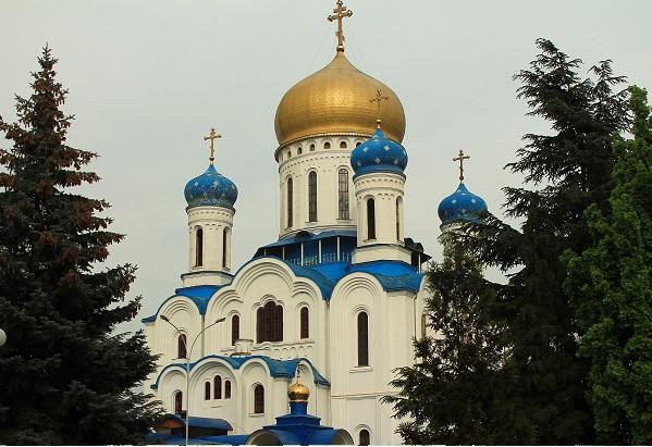 Cerkiew prawosławna Użhorod ukraina