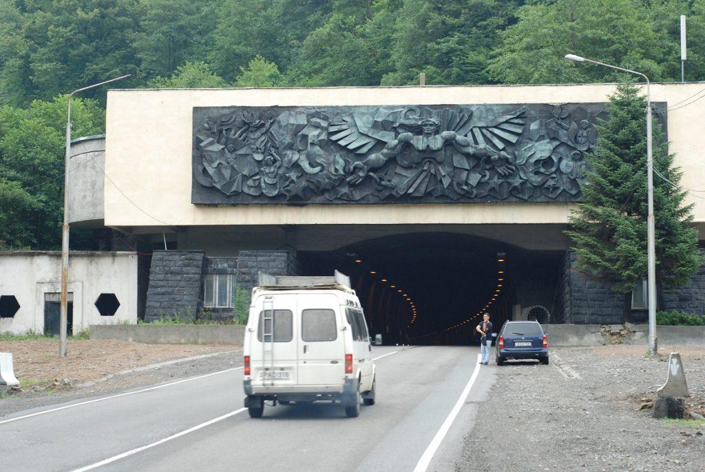 Droga do Tkibuli