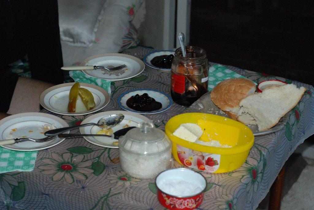 Gruzińskie śniadanie