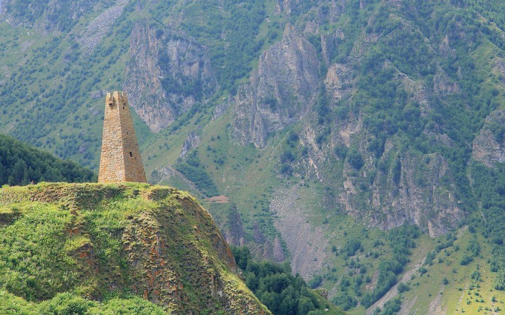 Gruzja wieże obronne