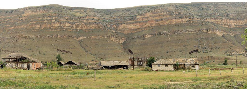 Opuszczone domy w Gruzji
