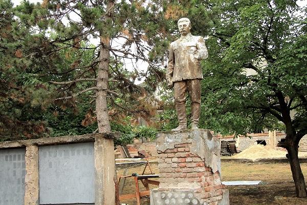 Pomnik stalina w Gruzji