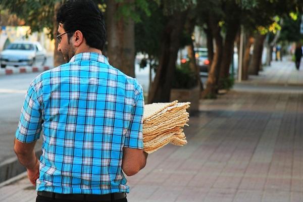 Chleb Lavasz w Iranie