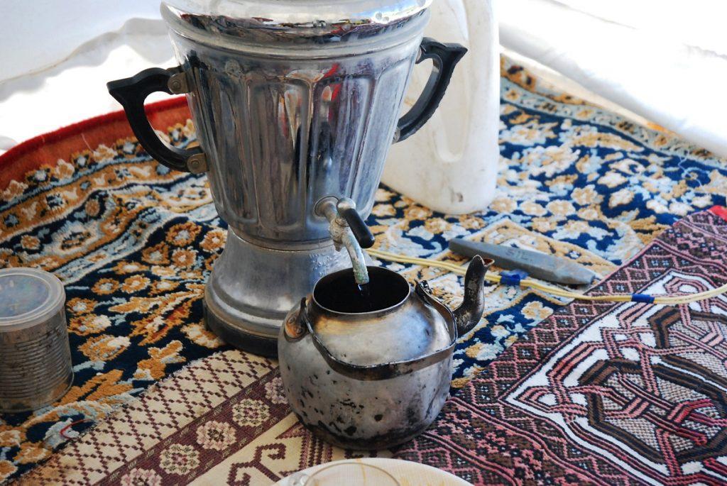 Irańska herbata czaj