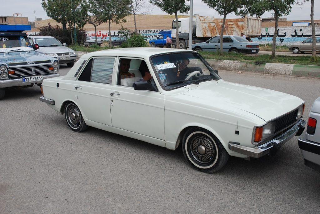 Irańskie samochody Paykan
