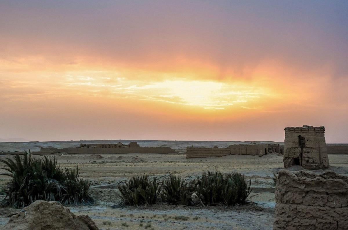 Opuszczona Oaza Iran