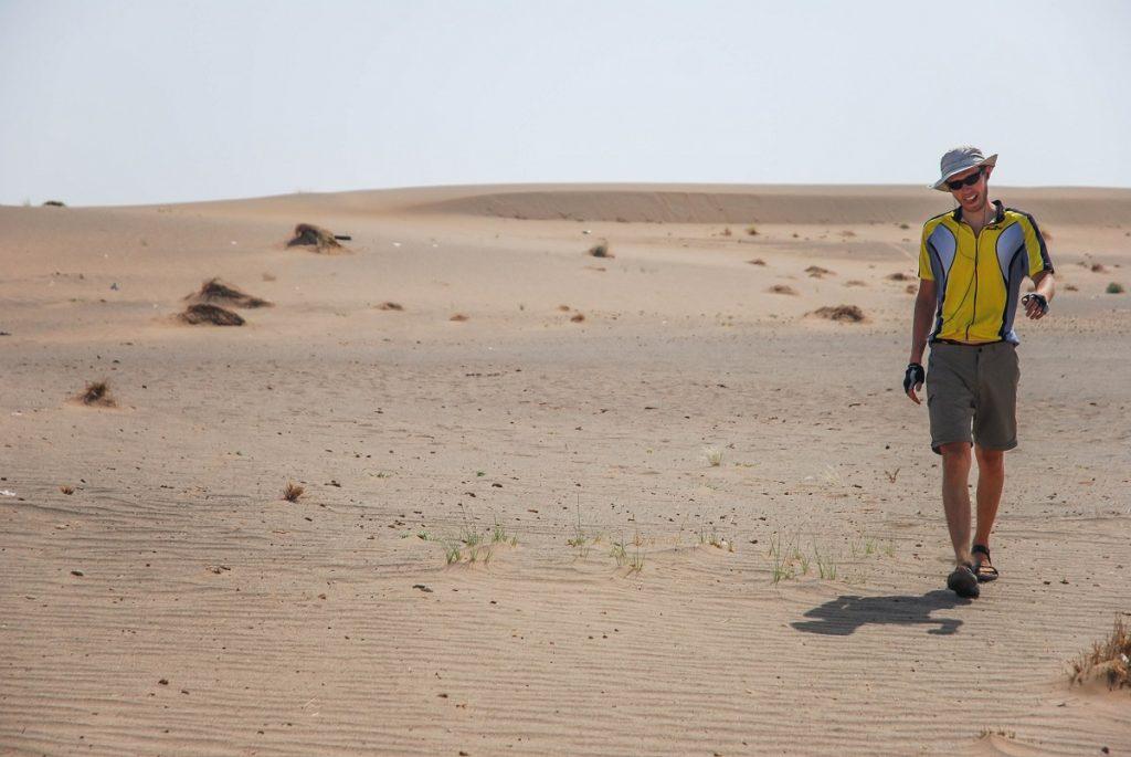 Pustynia w środkowym Iranie