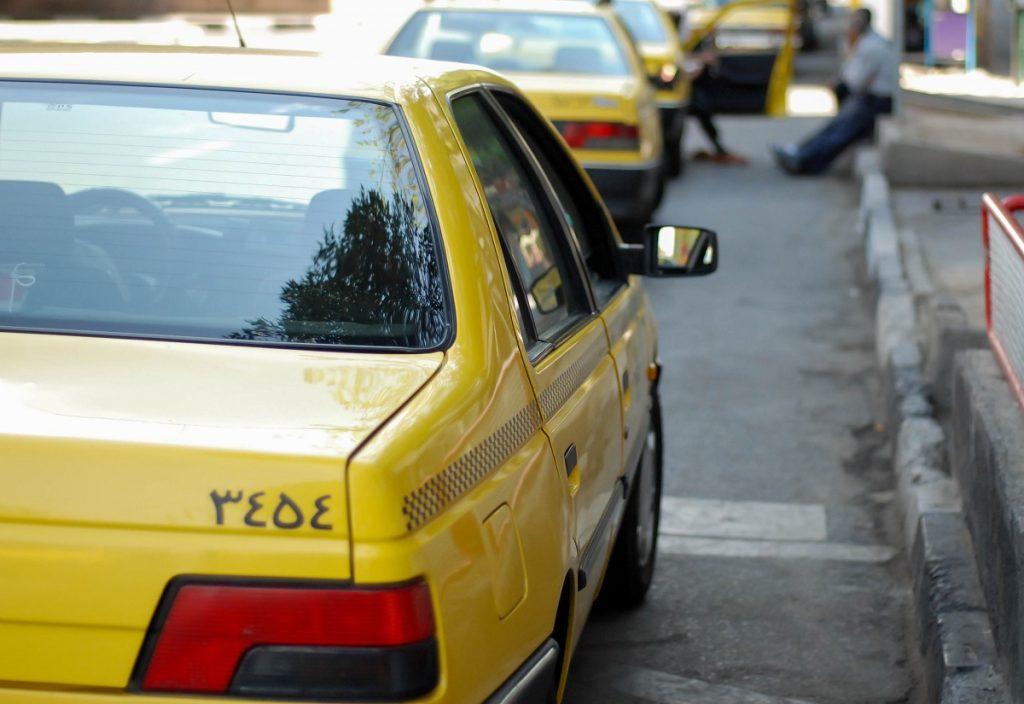 Taksówki w Iranie