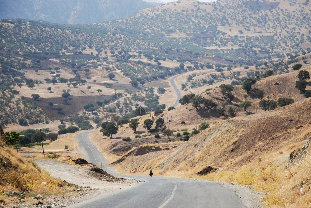 Drogi w Irańskim Kurdystanie