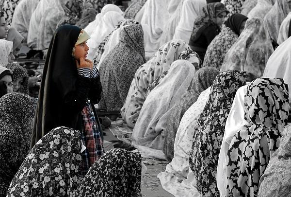 Modlitwa piątkowa uliczna islam