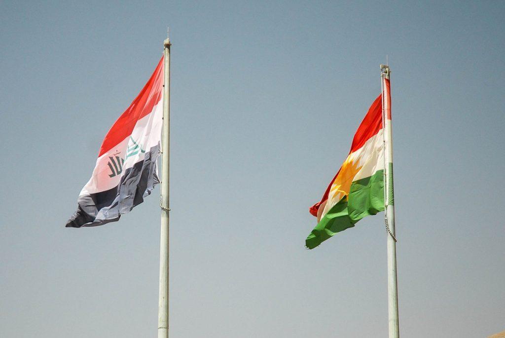 Flaga Iracka Kurdyjska
