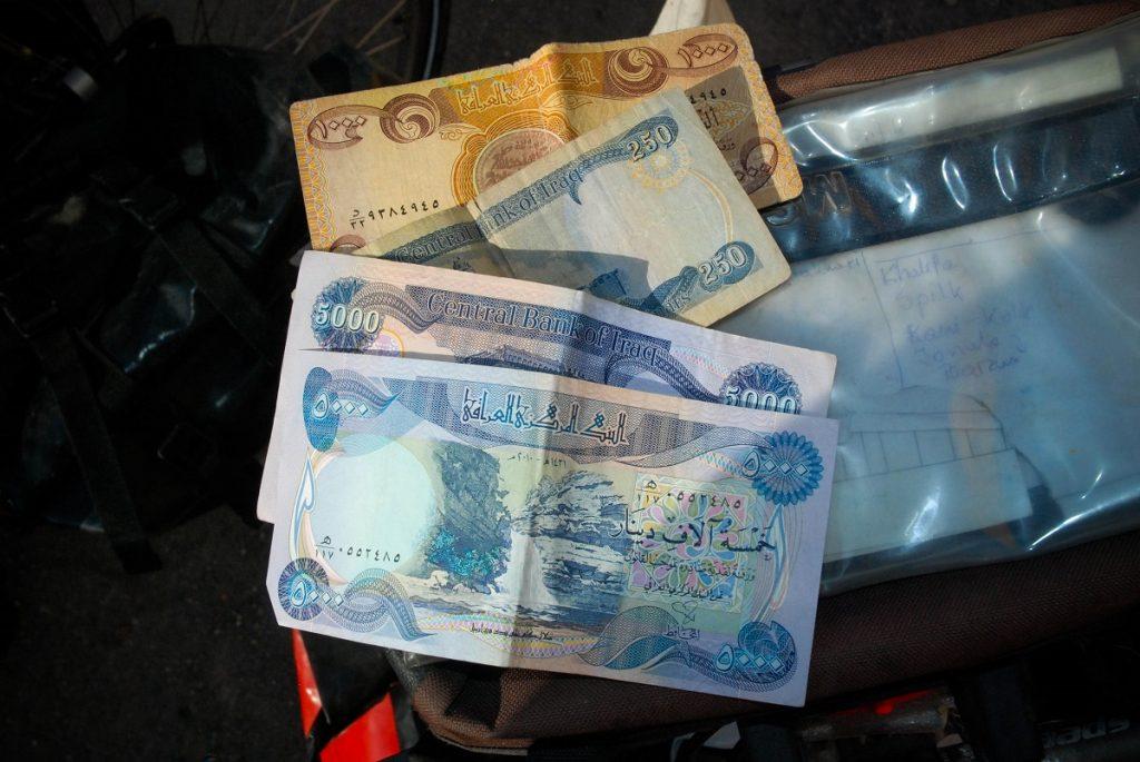 Irackie pieniądze dinary