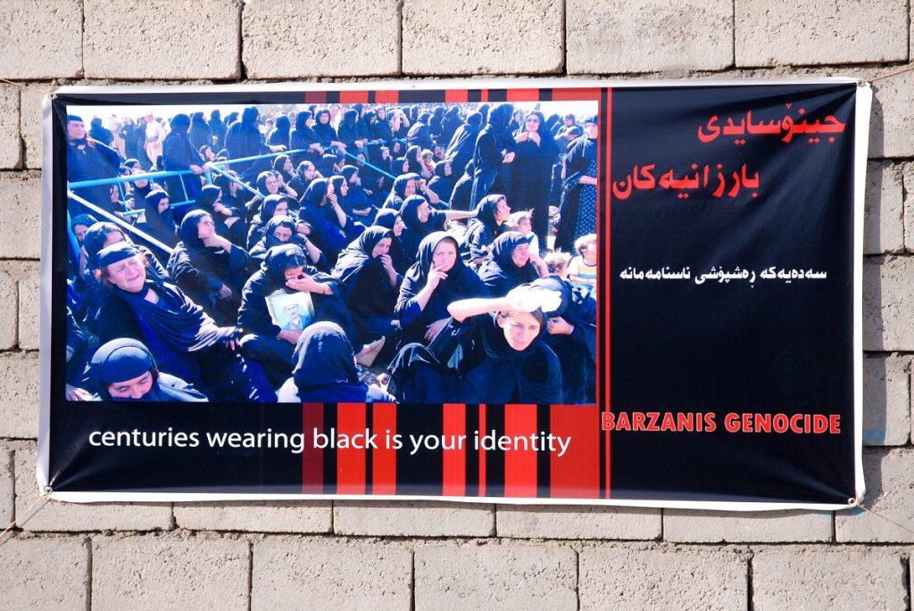 Ludobójstwo Kurdów Saddam Husain