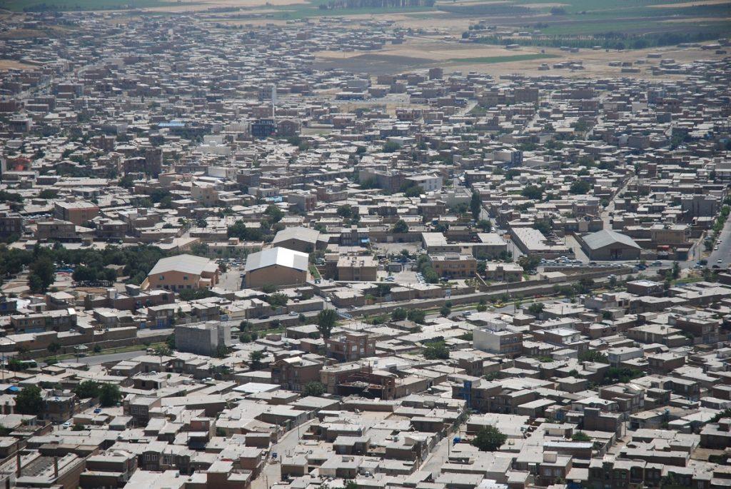 Miasto Piranshahr Iran