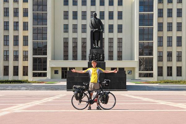 Plac niepodległości w Minsku