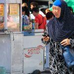 Biszkek – bazarowe zakupy. Festiwal Id al Fitr.