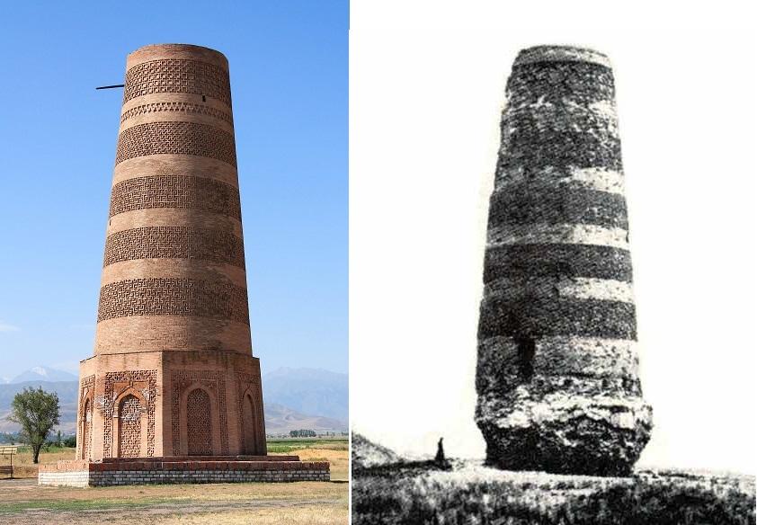 Odremontowana i ledwo stojąca wieża
