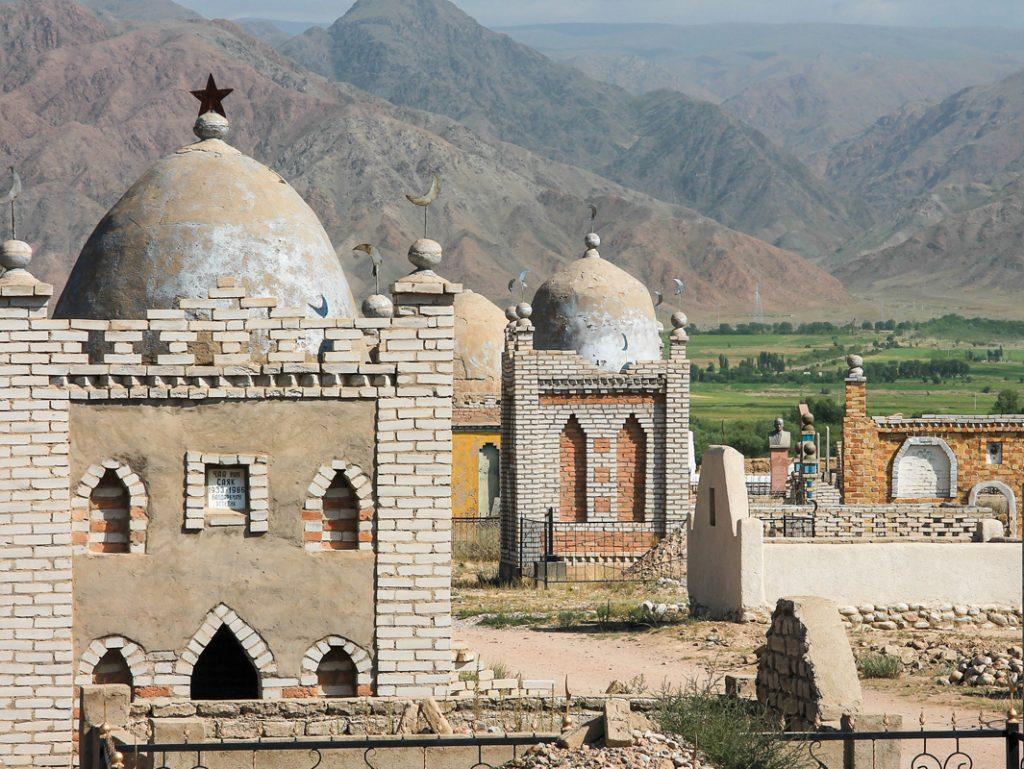 Cmentarze w Kirgistanie...