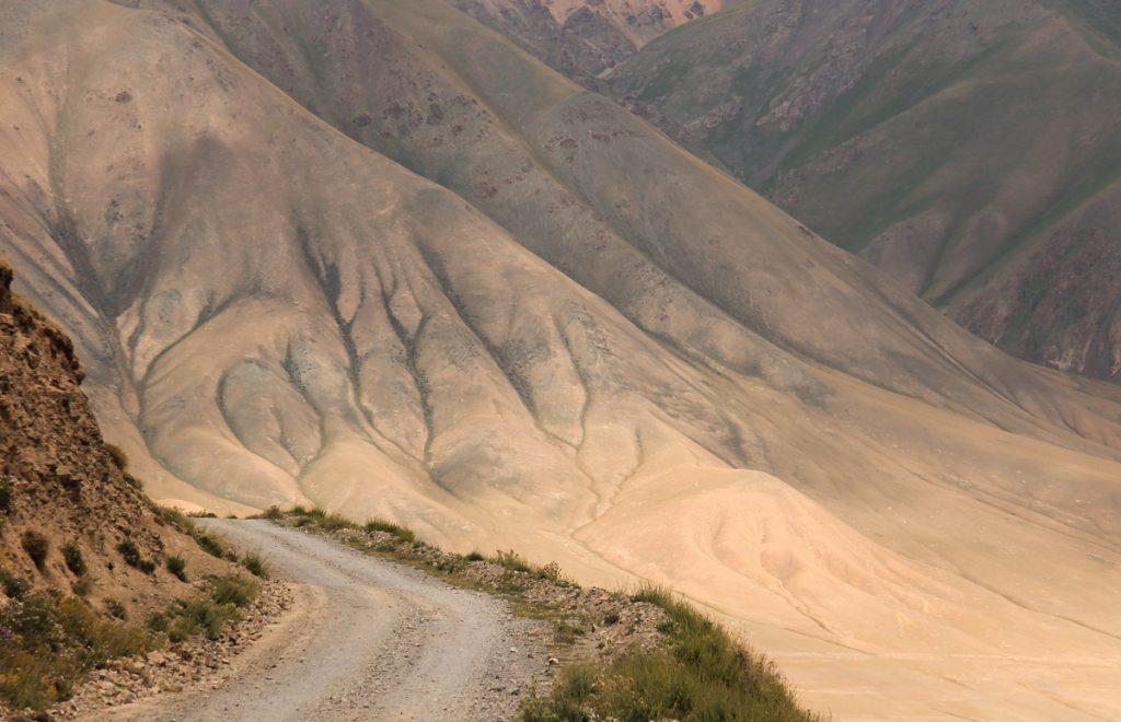 Mountain od Kyrgyzstan view