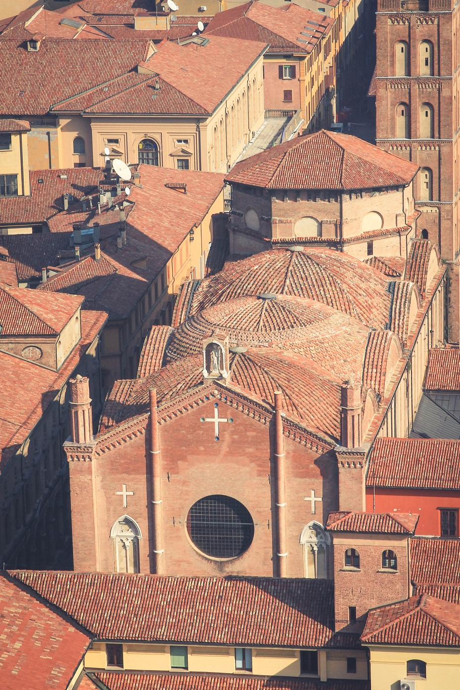 Centrum Bolonia katedra