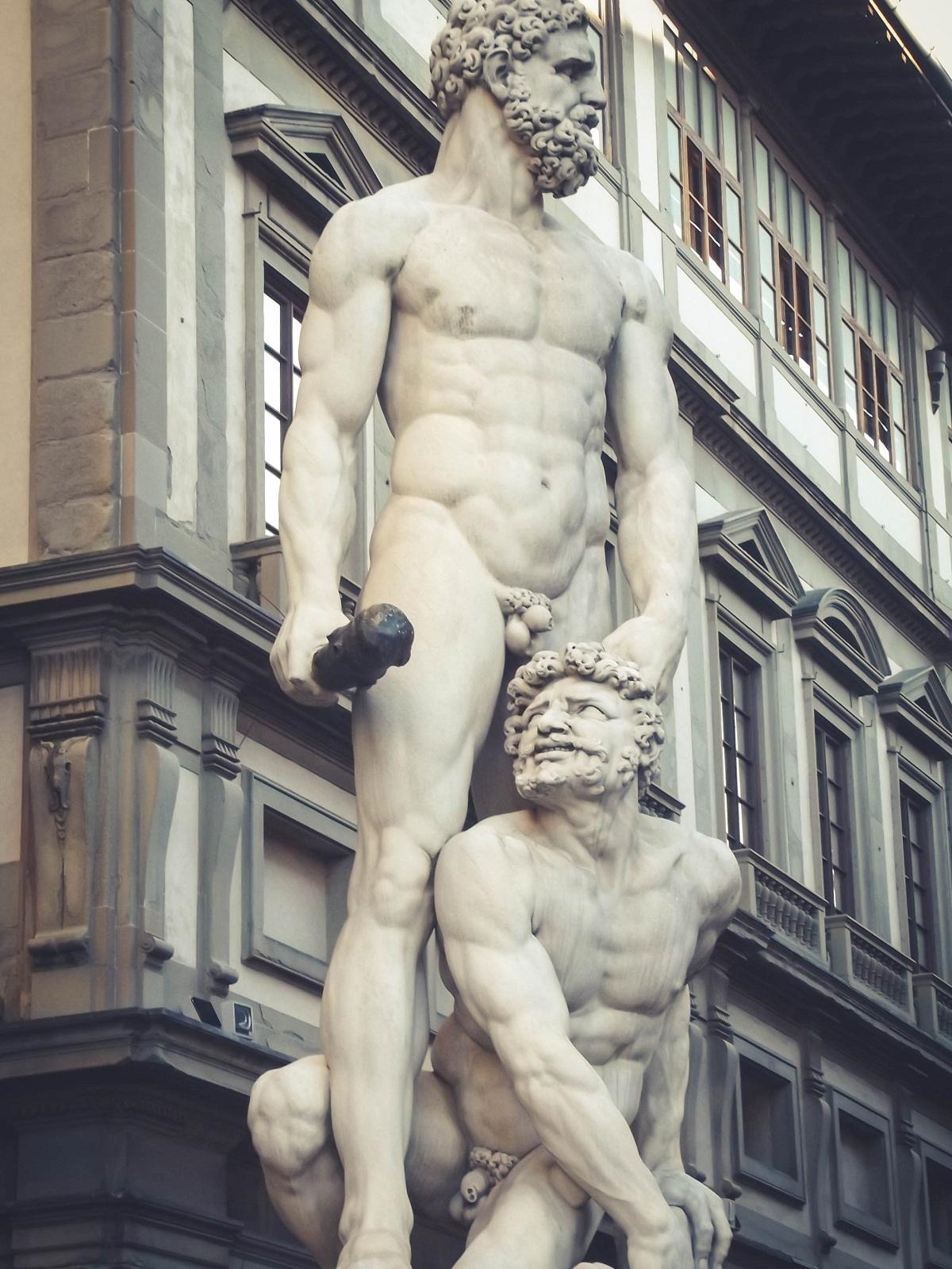 Herkules Rzeźba florencja