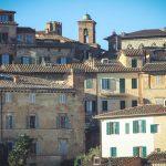 Siena o poranku. Ciepłe źródła Bagni san Filippo
