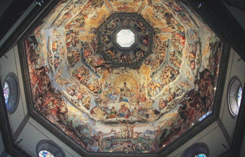 Sklepienie katedy florencja