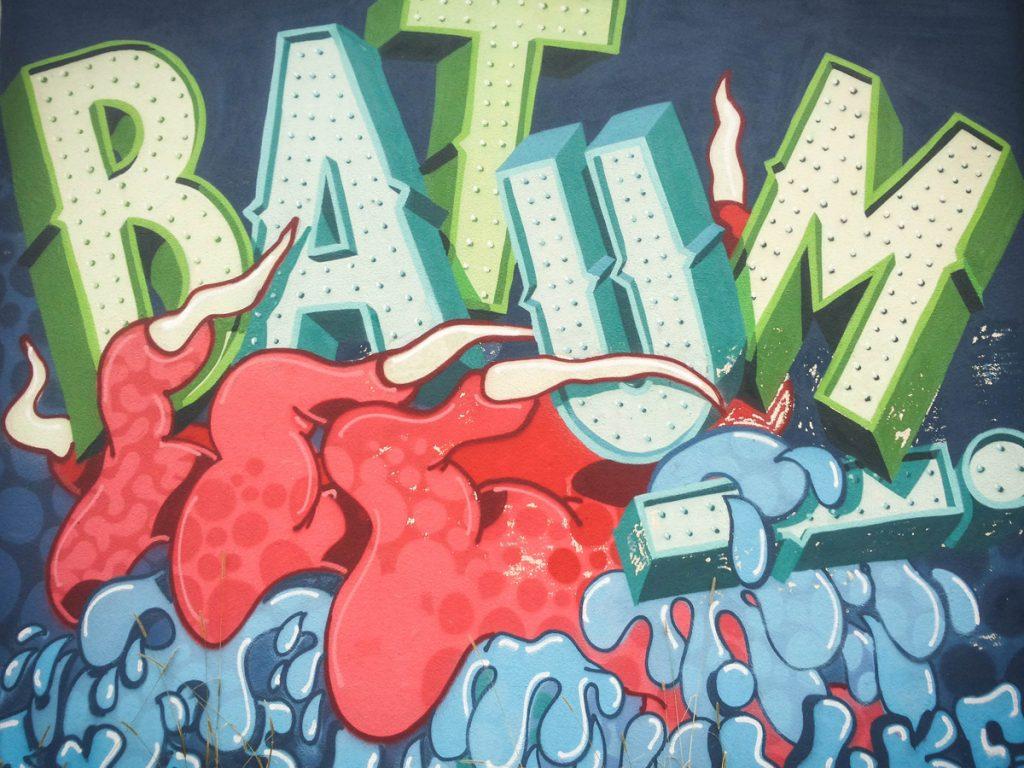 i grafitti surrealistyczne...