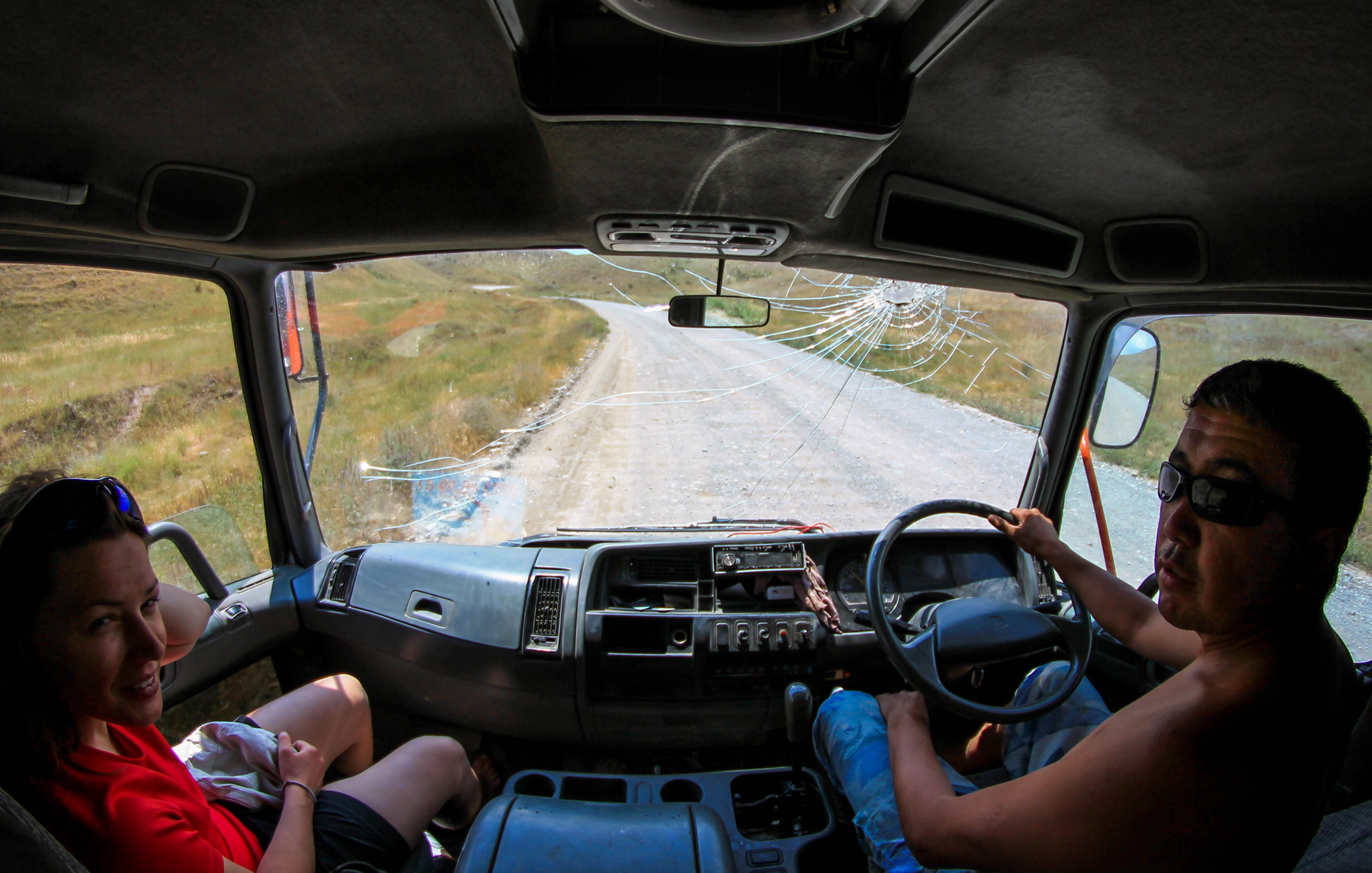 Autostop w Kirgistanie