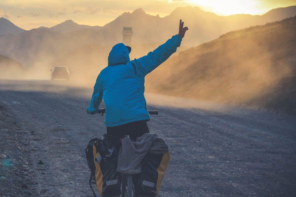 W koncu jest. Bezimienna pzełęcz 2800m. npm.