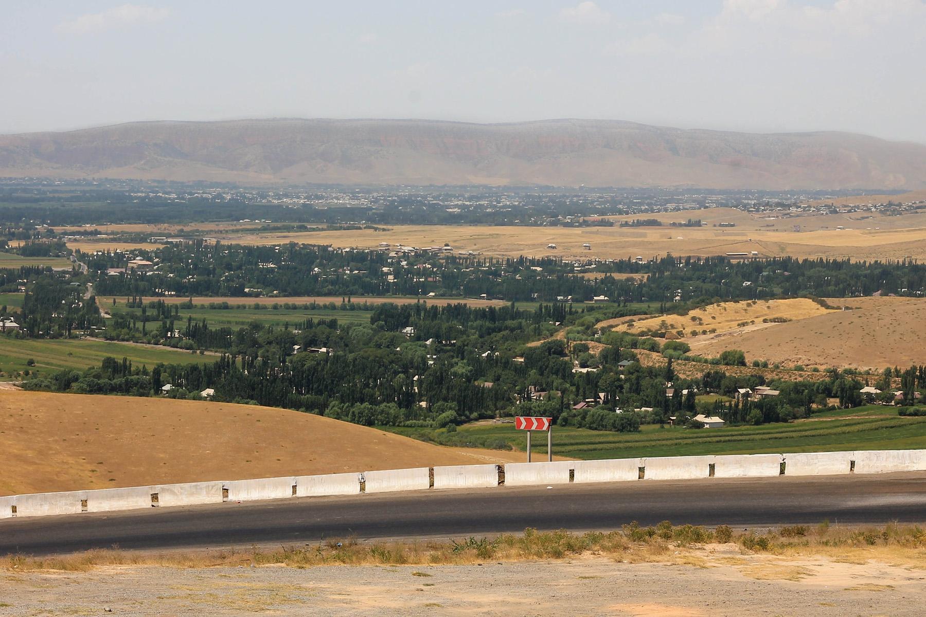 Trasa z Jalal Abadu do Osz.
