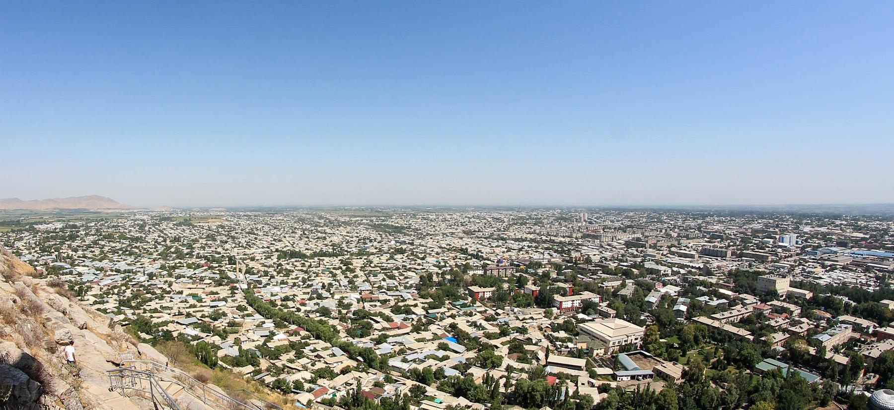Panorama z góry