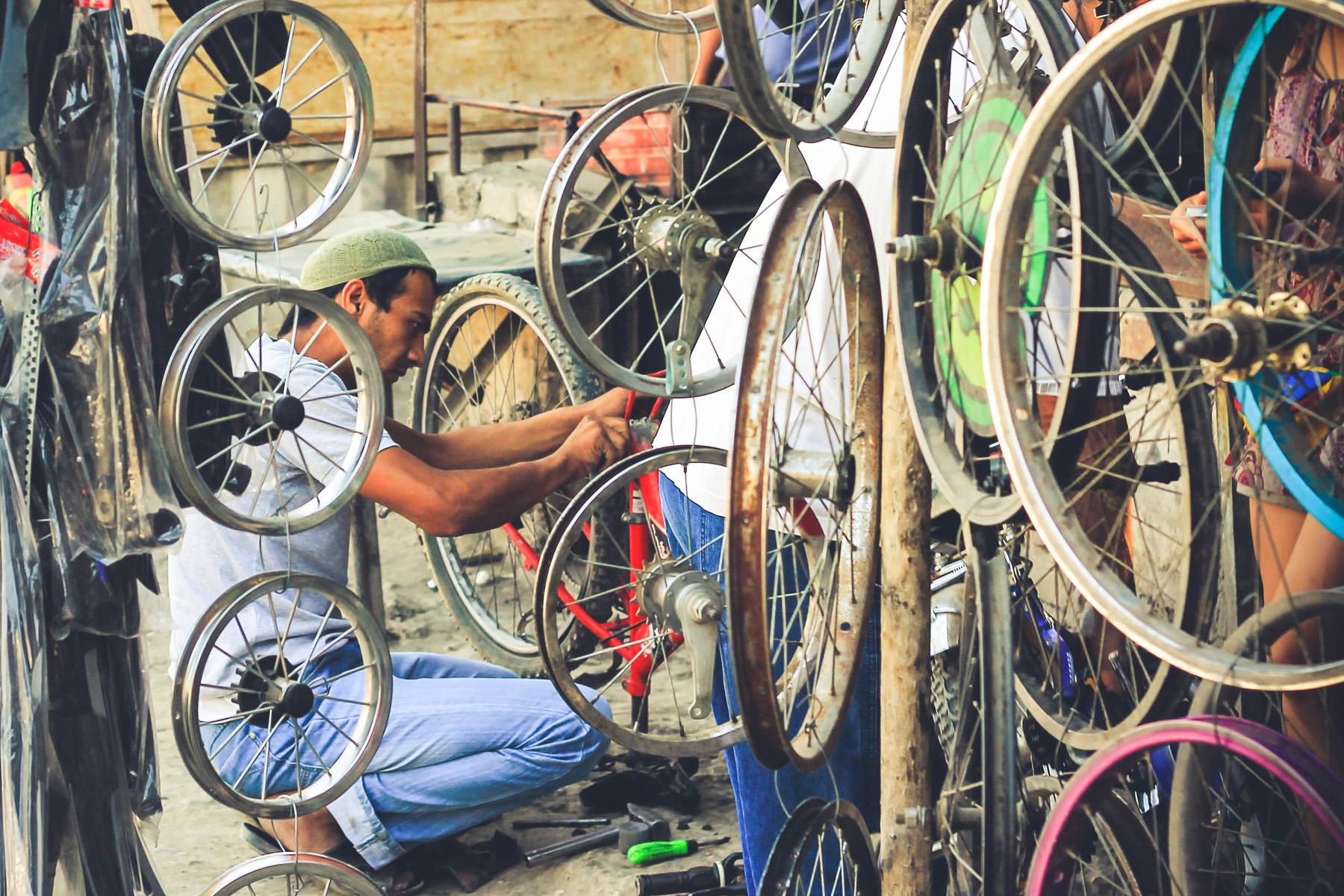 Sklep rowerowy Osh