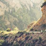 Oszałamiające góry Kirgistanu.