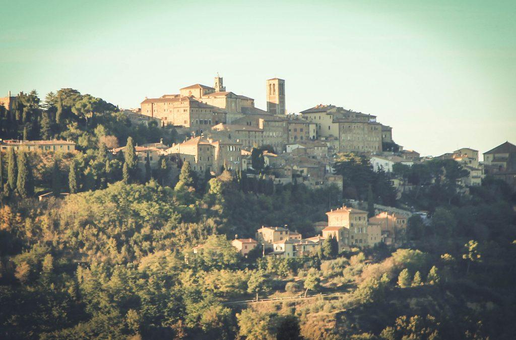 Widok na Montepulciano