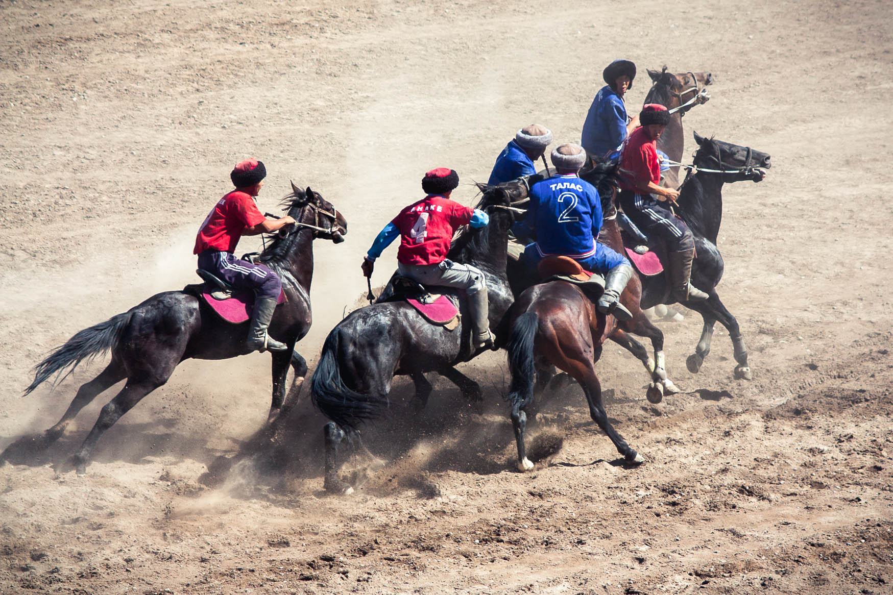Buzkashi game photos