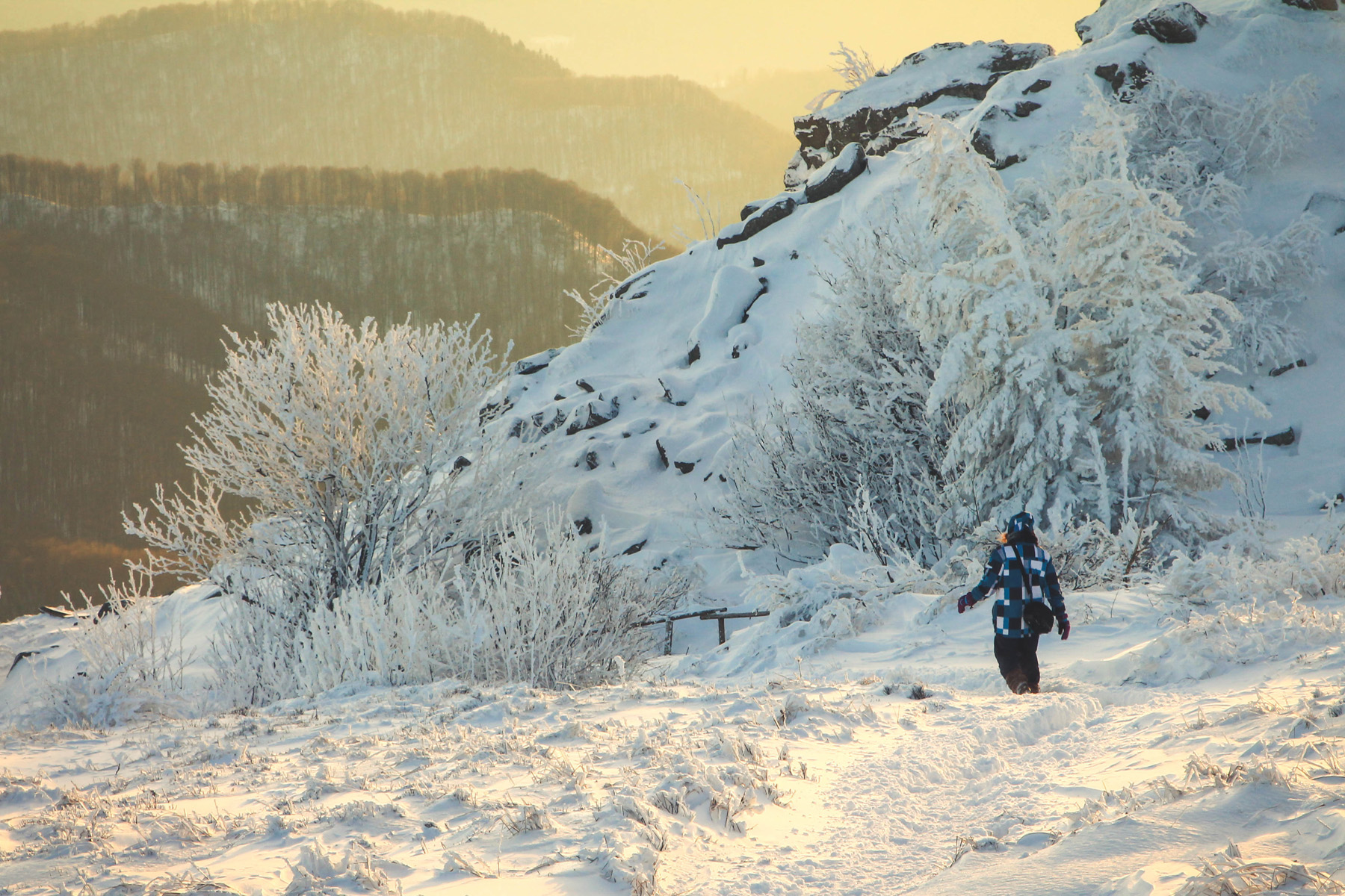 Góry Bieszczady ZIma 2014