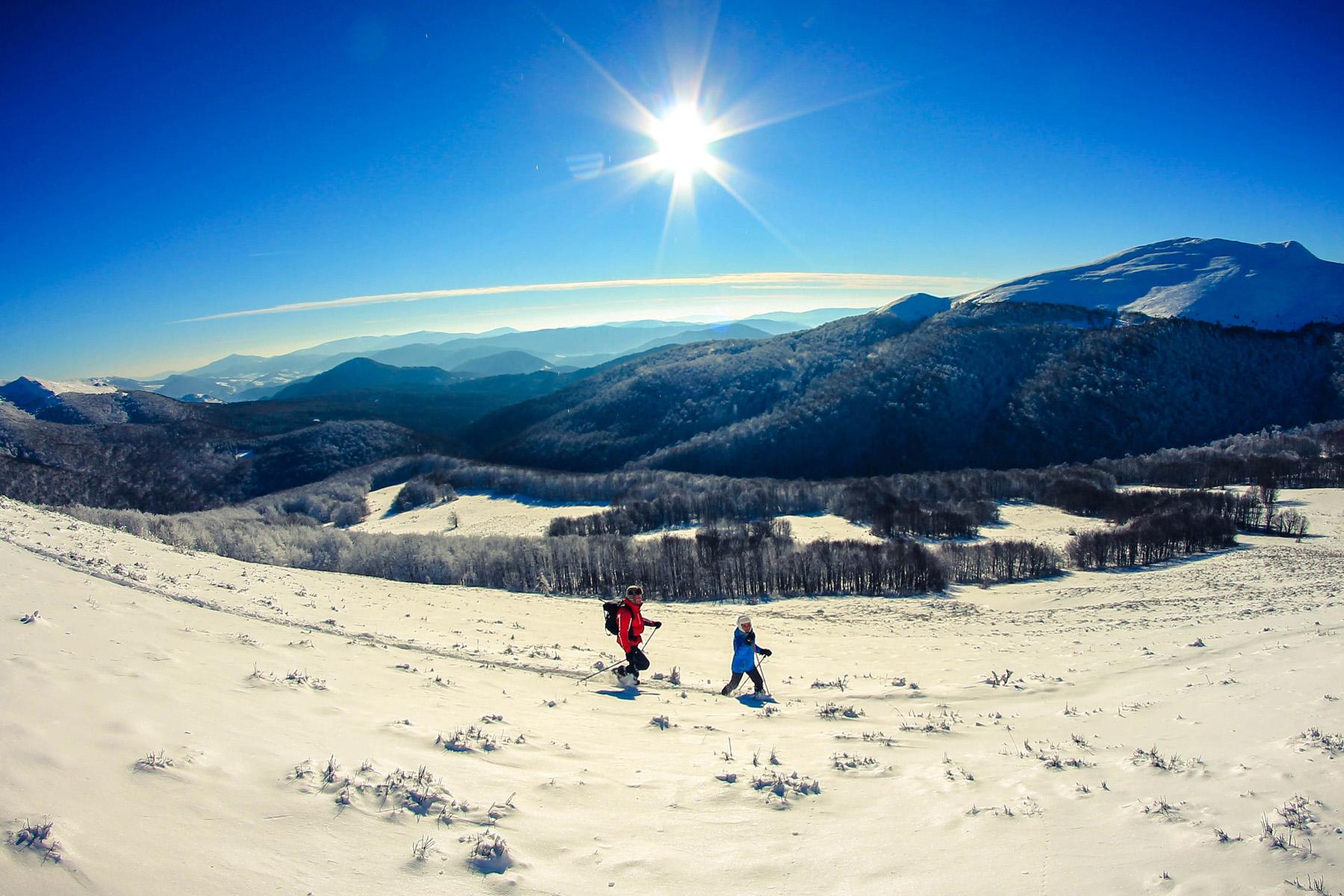 Trasy Bieszczady Zima