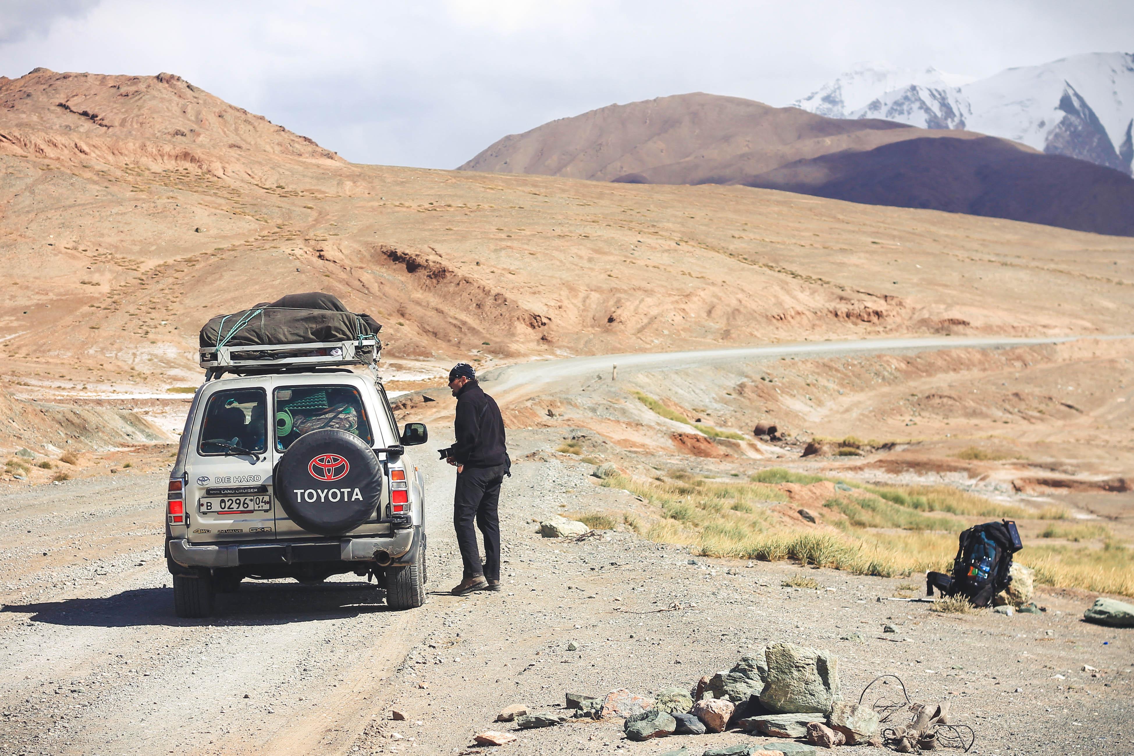 Autostop w Pamirze Tadżykistanie